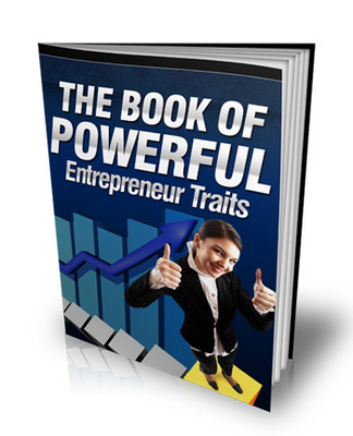 Product picture The Book of Powerful Entrepreneur Traits