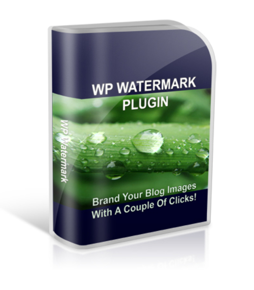 Product picture WP Watermark Plugin (PLR)