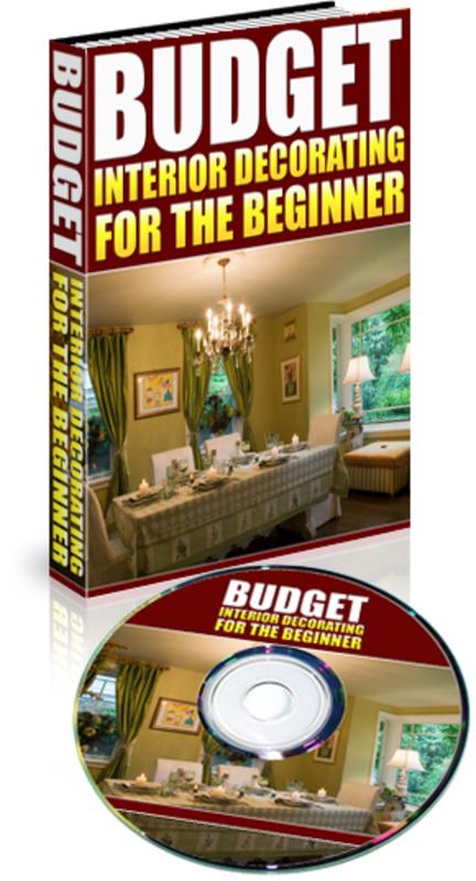 Product picture Interior Decorating For Beginners On A Budget (MP3 & ebook)