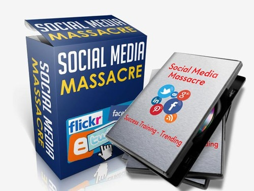 Product picture Social Media Massacre Training - Video Series (PLR)