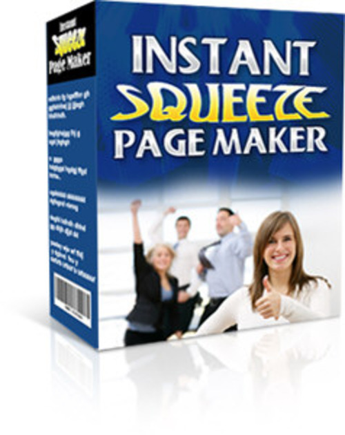 Product picture Instant Squeeze Page Maker