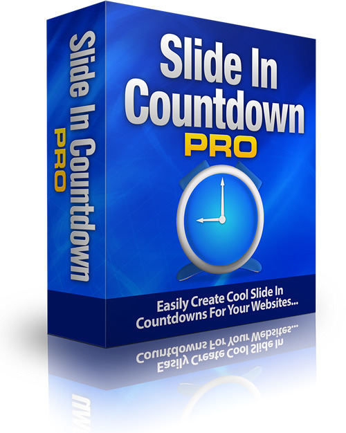 Product picture Slide In Countdown Pro