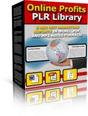 Product picture Online Profits PLR Library