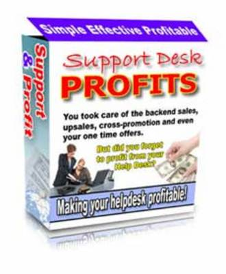 Product picture Support Desk Profits