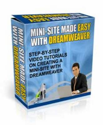 Product picture Mini-Site Made Easy With Dreamweaver
