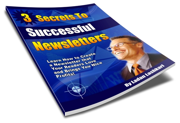 Product picture 3 Secrets To Successful Newsletters