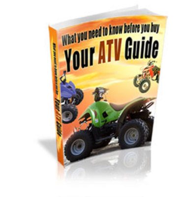 Product picture Guide To What You Need To Know Before You Buy Your ATV
